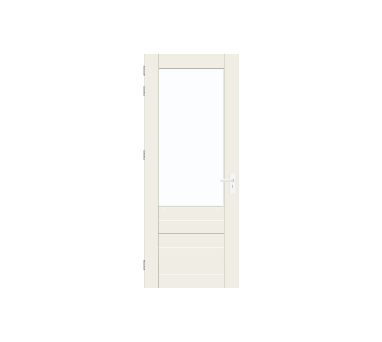 Binnendraaiende deuren