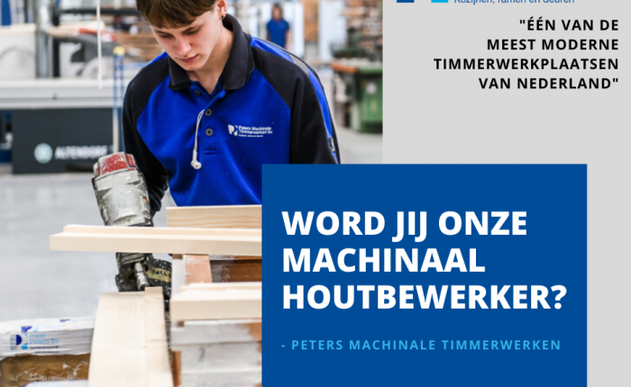 Vacature machinaal houtbewerker